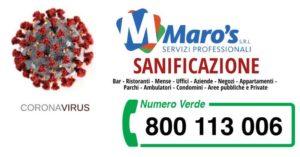 Read more about the article Sanificazione da Virus