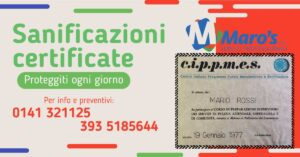 Read more about the article Sanificazioni Certificate